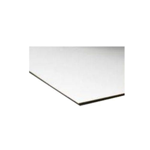 3 mm MDF 2 zijdig wit voor kamerscherm 2 vaks