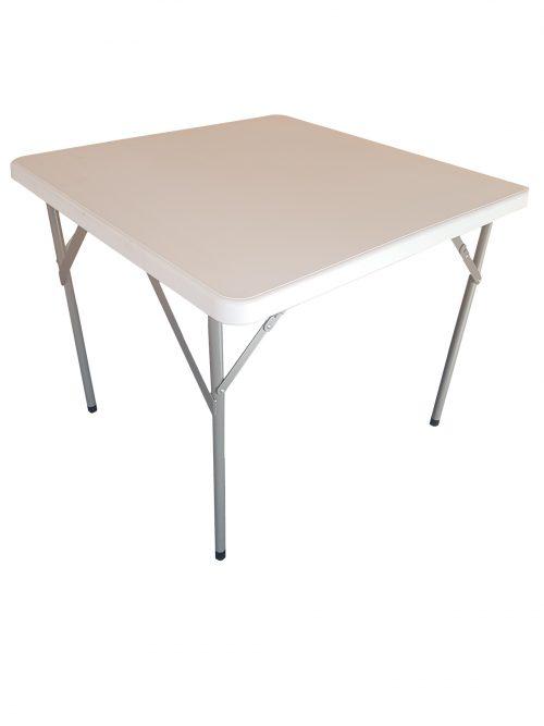 Bridge tafel inklapbaar Blowmold 86x86