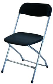 Klapstoelen, vouwstoelen chroom samsonite