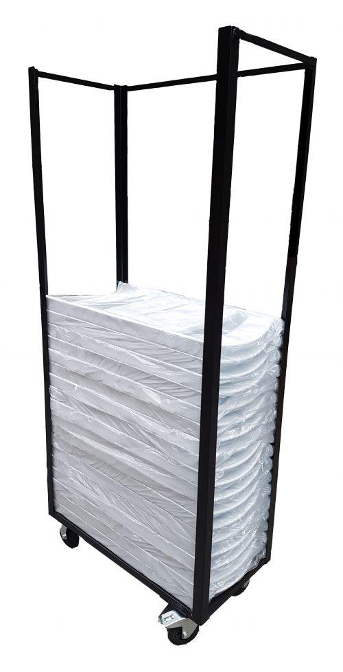 Transportkar voor trouwstoelen, weddingchair