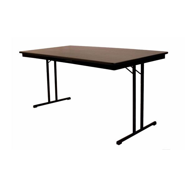 Luxe vergadertafels met een maximale beenruimte aan de lange zijden. Geschikt voor Professioneel gebruik zoals horecaklaptafel, vergaderklaptafel