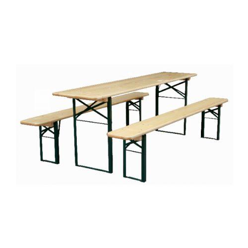 aanbiedingen biertafelset biertafel met 2 bierbanken. Divere maten, uit voorraad leverbaar. optioneel met transportkar. Professionele kwaliteit