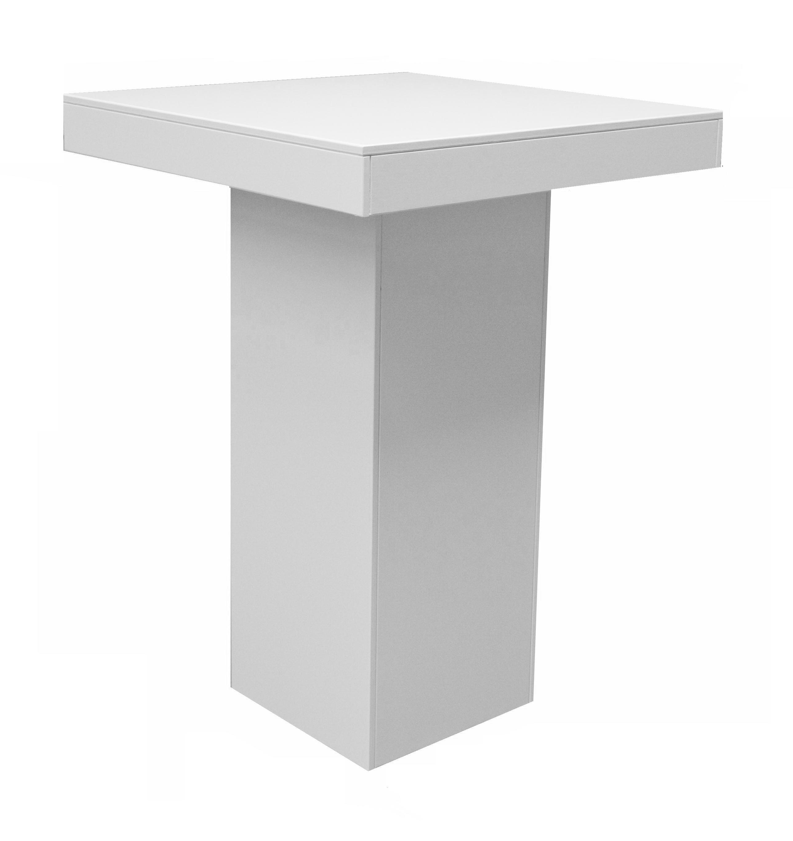 Moderne Witte Statafel.Luxe Witte Statafel Style Strakke Statafels