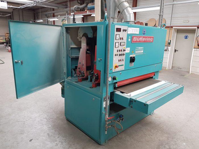 Breedbandschuurmachine voor het schuren van massief hout, fineer en lakwerk